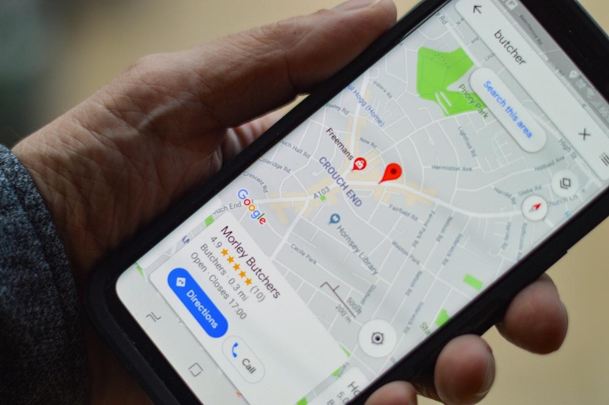 Google maps optimised