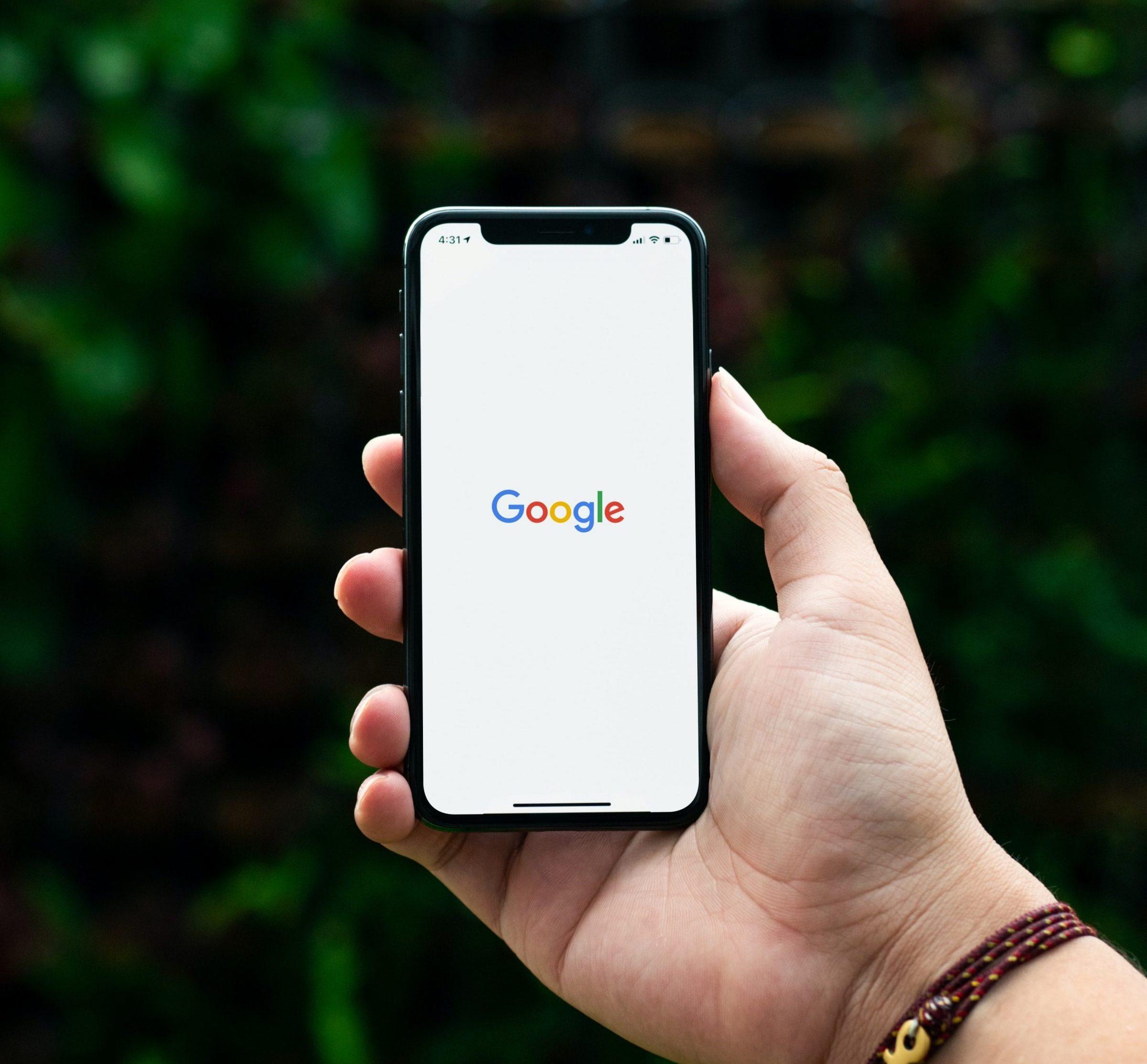 google on iphone optimised